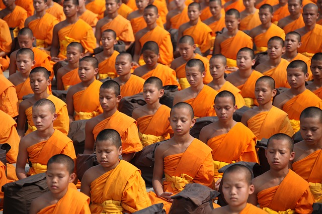 monaci Tailandia