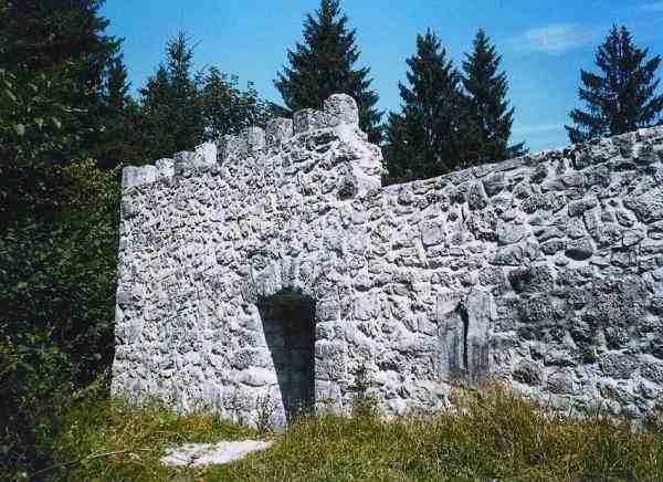 forte romano verso Lubiana