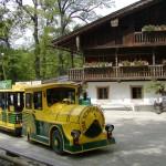 Il giardino zoologico ed il trenino del parco a Schönbrunn Vienna