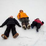 Sulla neve di Polsa di Brentonico