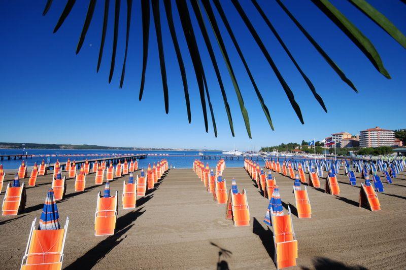 spiaggia portoroz