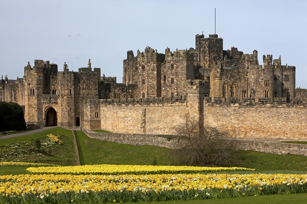 Il castello di Alnwick Inghilterra