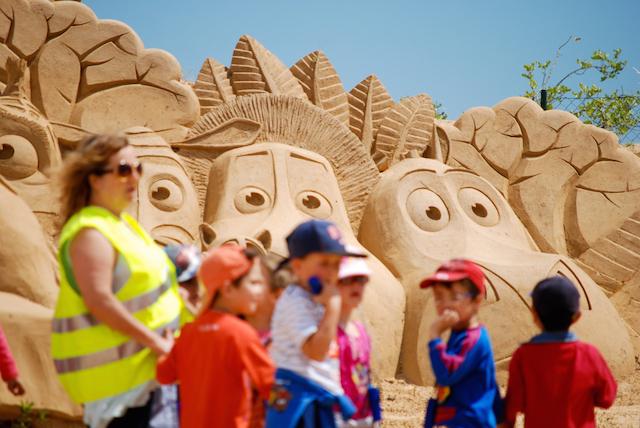 sculture sabbia algarve