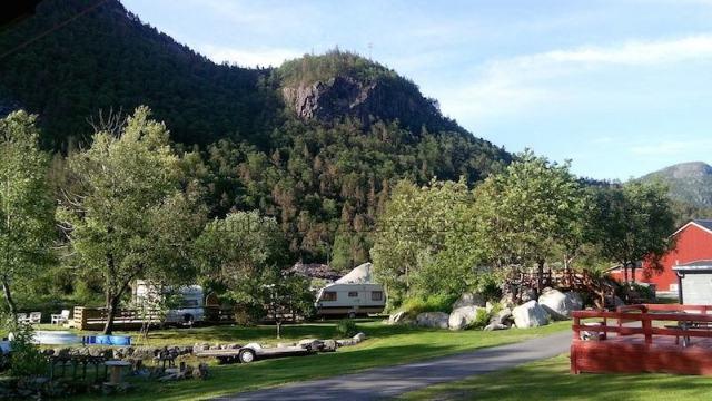 campeggio Norvegia