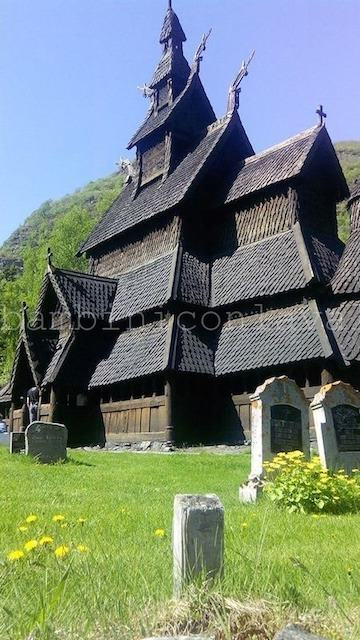 chiesa legno Norvegia