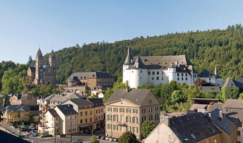 lussemburgo con bimbi
