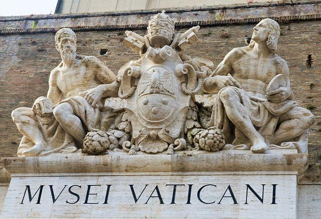 Musei vaticani roma bimbi