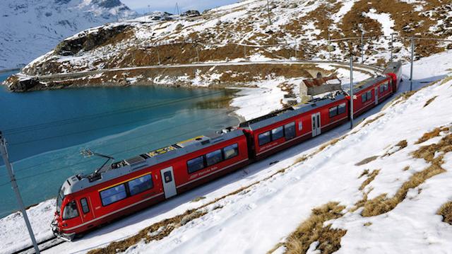 treno della bernina express