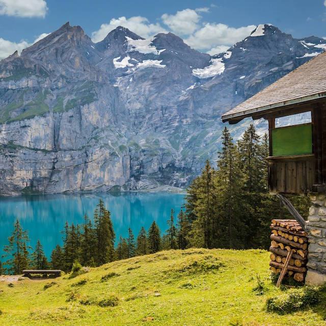 trenino Bernina panorama