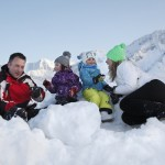 Neve in Val di Sole Trentino