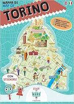 mappa illustrata Torino