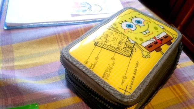 Il pennaiolo Sponge Bob