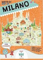 mappa Milano per bambini