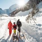 Tirolo d'inverno con i bambini