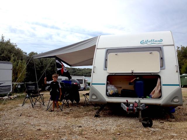 campeggio in roulotte