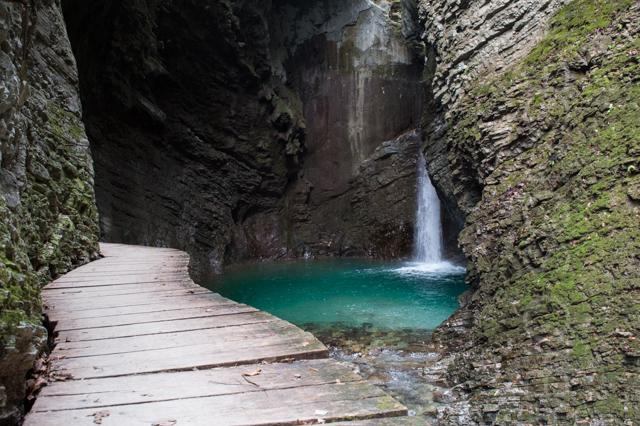 cascata di kozjak