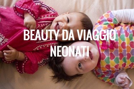 bauty da viaggio per neonati
