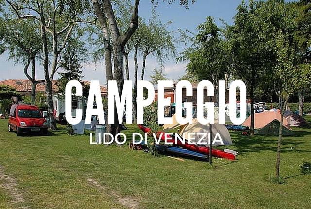 campeggio al lido di venezia