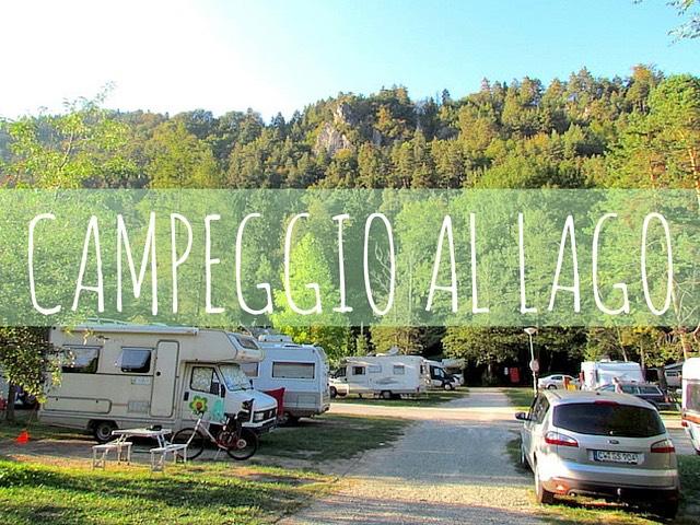 campeggio al lago di bled
