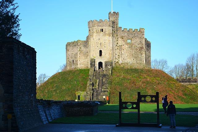 castelli in inghilterra e galles