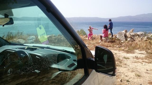 grecia in auto