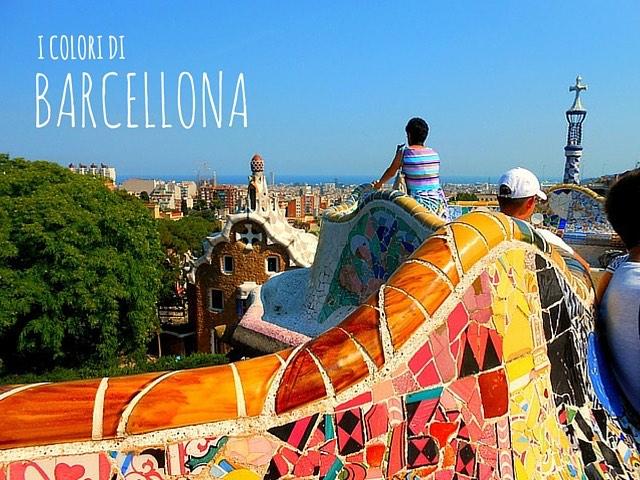 I colori di barcellona bambini con la valigia viaggi for Barcellona vacanza