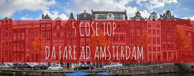 COSE TOP AD AMSTERDAM