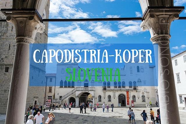 CAPODISTRIA KOPER SLOVENIA