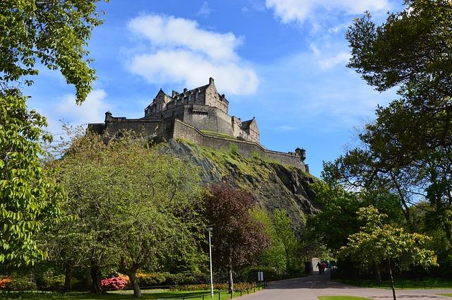 Castello Edimburgo Scozia