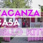 Campeggio a casa di Hello Kitty