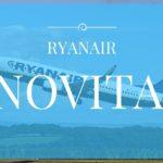 Novitá in casa Ryanair