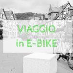 E-Bike con bambini in viaggio
