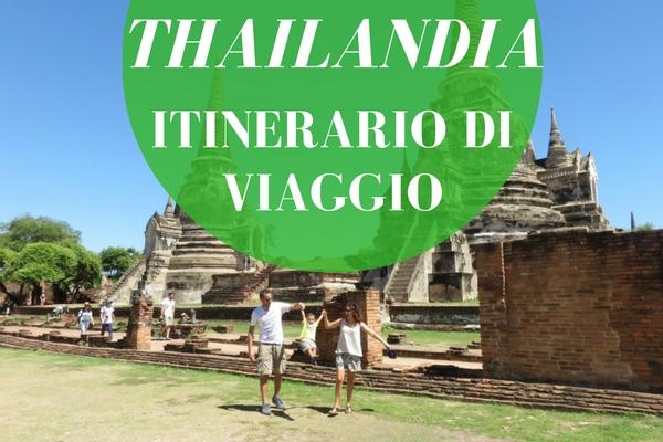 ITINERARIO IN THAILANDIA