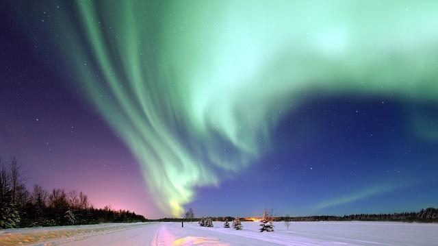 aurora lapponia finlandese