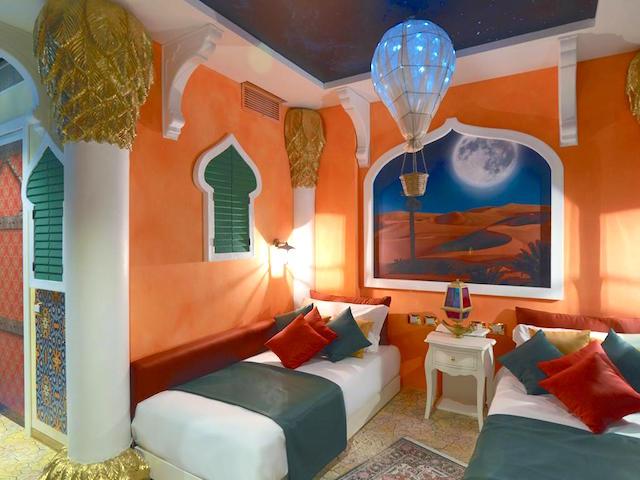 Gardaland Adventure Hotel stanze Mille e una notte