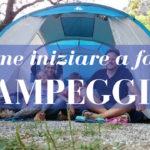 Campeggio con bambini in 5 semplici passi, come iniziare