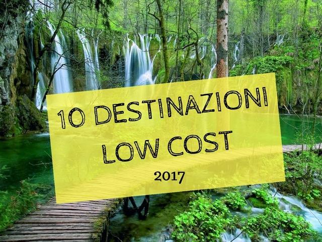 DESTINAZIONI LOW-COST