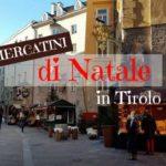 I mercatini di Natale in Tirolo: non solo Innsbruck