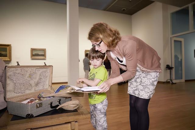 museo van gogh amsterdam con bimbi
