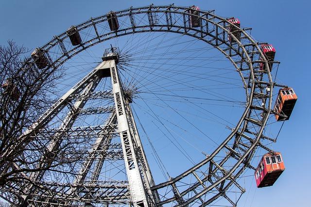 La ruota del Prater a Vienna