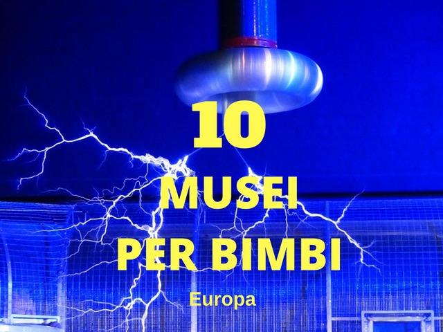 musei bimbi europa