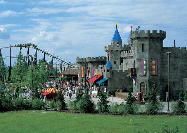 castello parco legoland