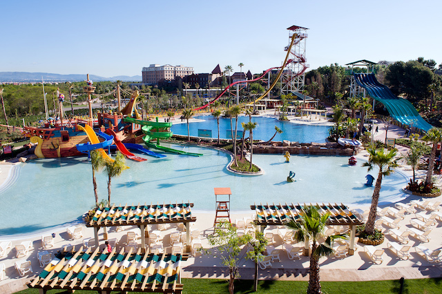 portaventura world arco acquatico