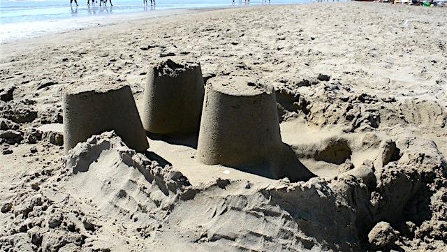 castelli di sabbia caorle