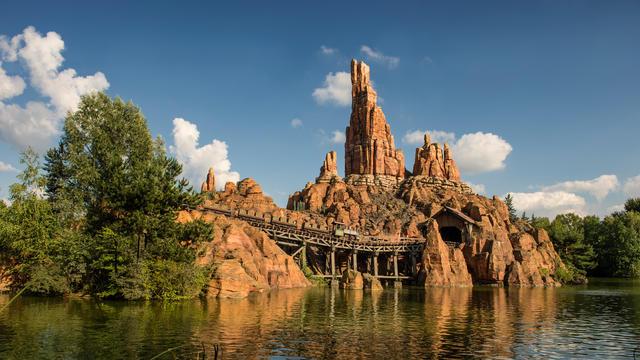 Big Thunder Mountain al parco Disneyland Parigi