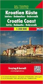 cartina costa croata