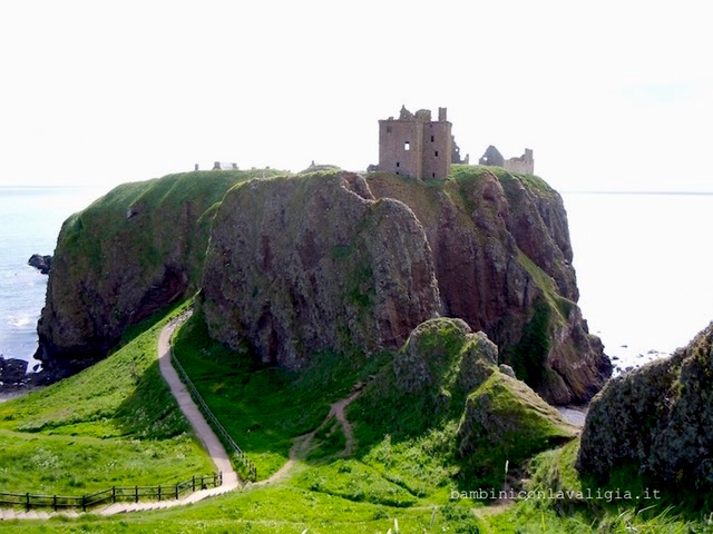Dunnottar castle in Scozia