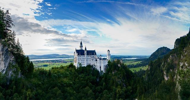 neuschwanstein castelli europa