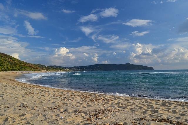 Palinuro spiaggia saline