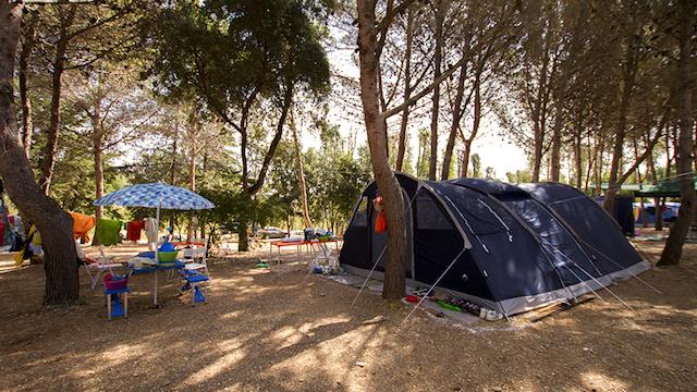 Sardegna in campeggio